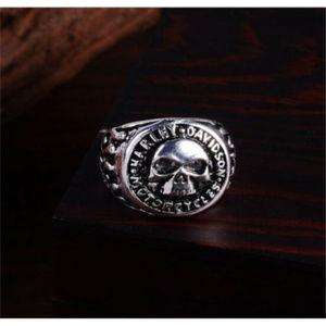 Other - Harley Skull Stainless Steel Biker Finger Ring